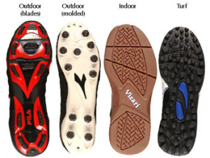 types of cleats