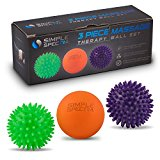 Massage Therapy Ball Set with eBook Guide