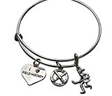 charms field hockey bracelet